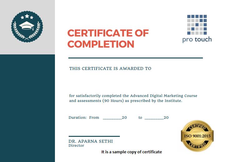 DM-Certificate