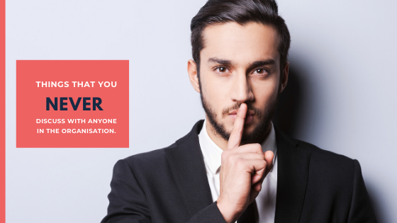 Things that you Never Discuss