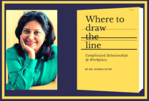 Where to draw the line- book by Dr. Aparna Sethi