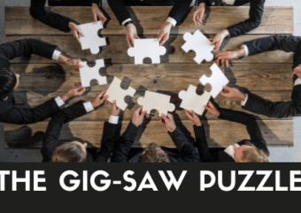 THE GIG-SAW PUZZLE