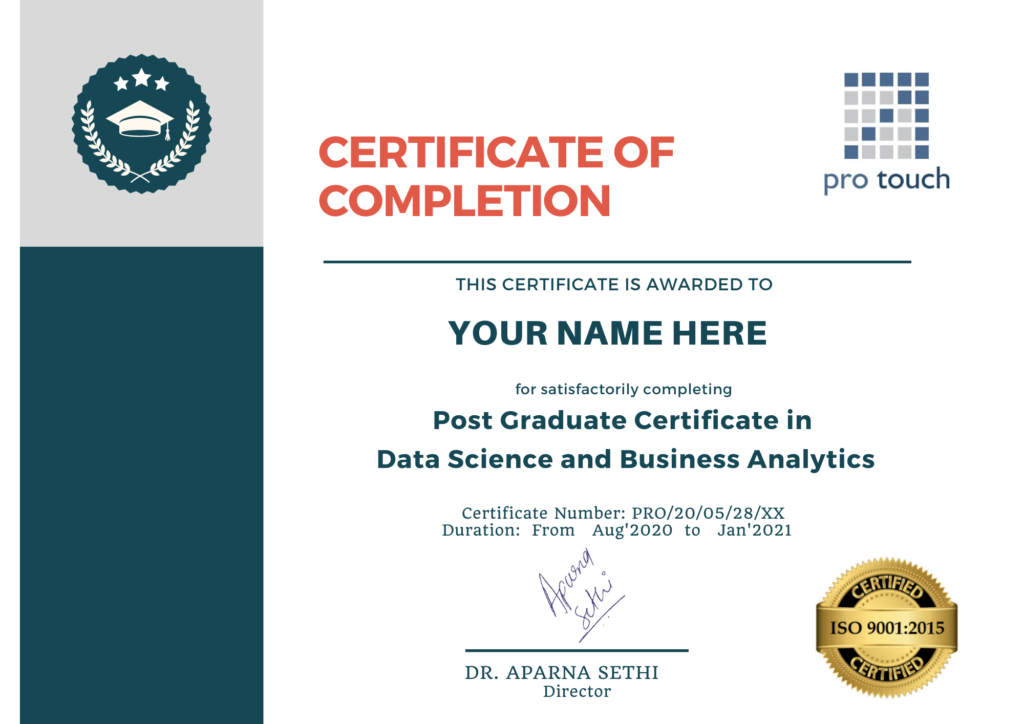 Business Analytics Certification Courses