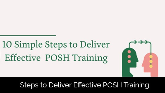 10 Simple Steps to Deliver Effective POSH Training